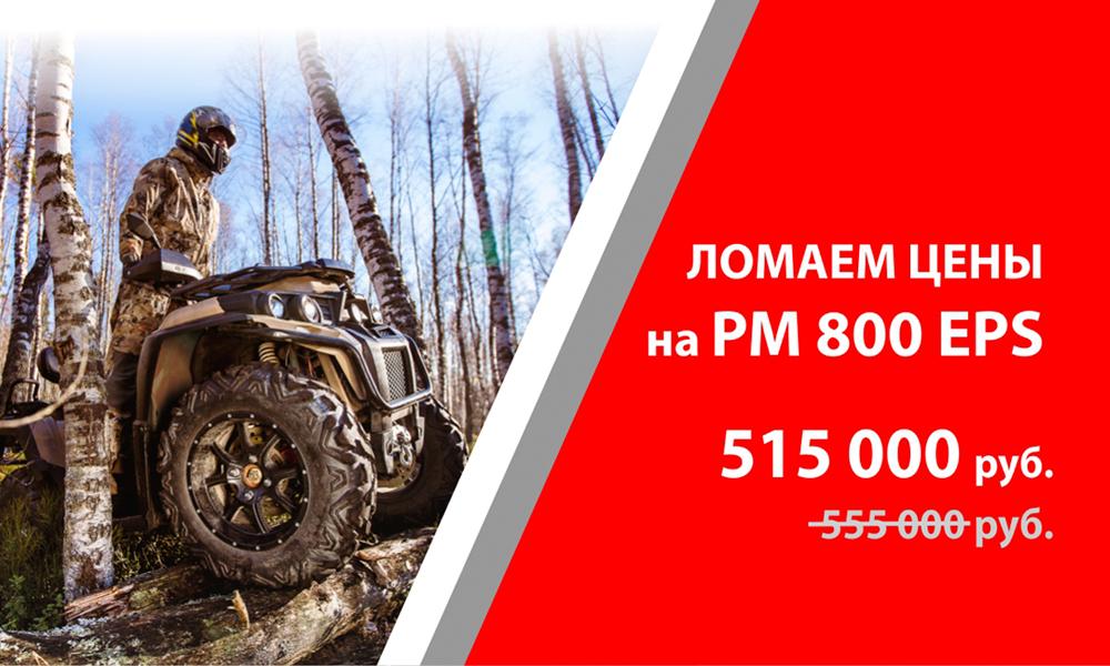 Акция Ломаем цены на РМ 800 EPS