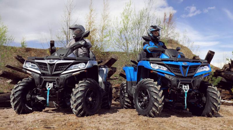 Новые цвета квадроциклов CFMOTO CFORCE 1000 EPS и 800 HO EPS