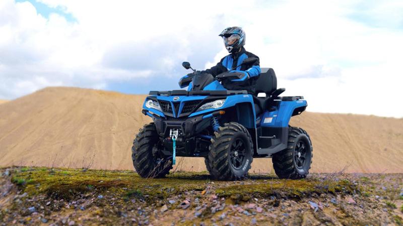 Квадроцикл CFORCE 1000 EPS в синем цвете