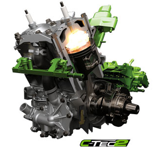 Двигатель 8000 C-TEC2 с системой двойного впрыска