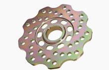 Перфорированный легкий тормозной диск