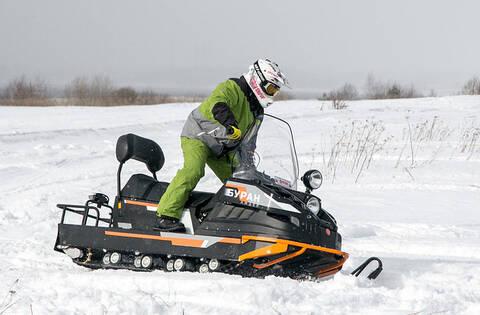 Снегоход БУРАН ЛИДЕР АЕ