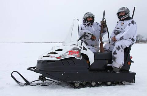 Снегоход БУРАН 4ТД