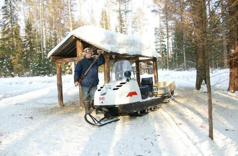 Снегоход БУРАН А