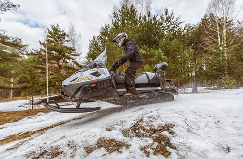 Снегоход RM TAYGA PATRUL 800 SWT