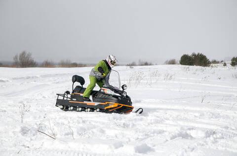 Снегоход БУРАН ЛИДЕР АДЕ