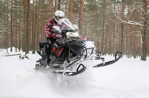 Снегоход Русская механика VECTOR 551