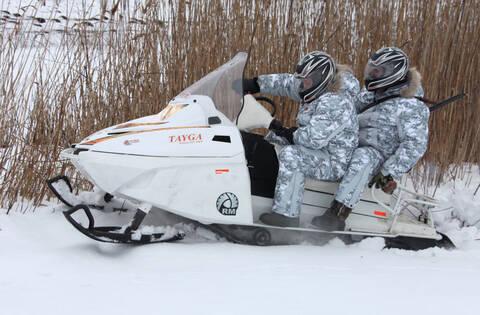 Снегоход TAYGA PATRUL 551 SWT
