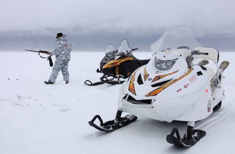 Снегоход  Русская механика Тайга PATRUL 551 SWT