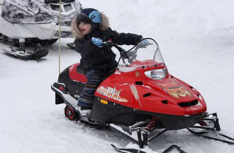 Снегоход детский ТАЙГА РМ РЫСЬ
