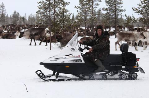 Снегоход Русская механика ТАЙГА ВАРЯГ 550 V SE