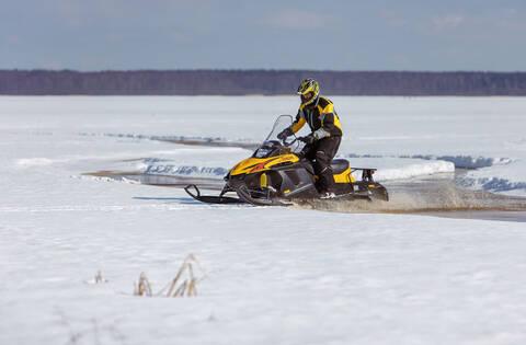 Снегоход  для подростков TIKSY 250 ЛЮКС
