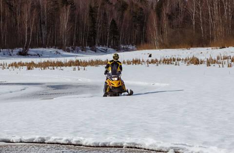 Снегоход  для начинающих TIKSY 250 ЛЮКС